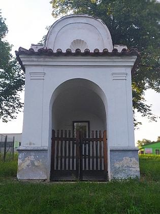 Síňová kaple sv. Jana a Pavla v Kájově