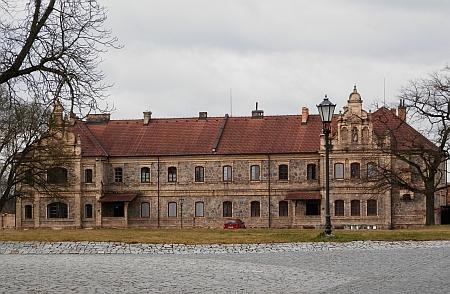 Hospodářský dvůr Vondrov u Hluboké nad Vltavou