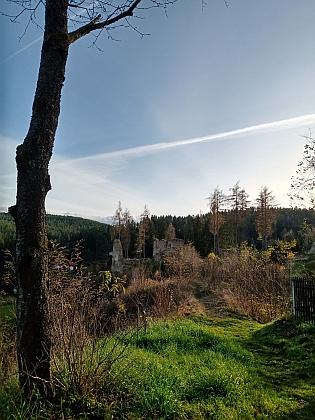 Zřícenina hradu Pořešín