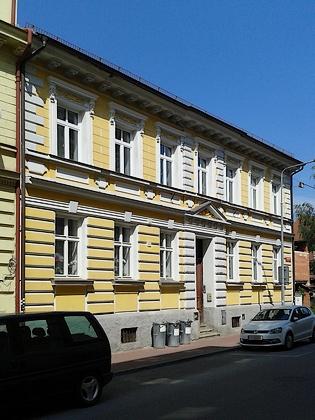 Rodný dům v českobudějovické Lipenské ulici čp. 7