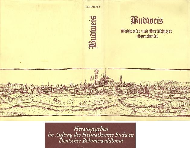 Obálka jeho knihy vydané nakladatelstvím Bergemann + Mayr v Miesbachu (1979) s výřezem ozdobné pásky