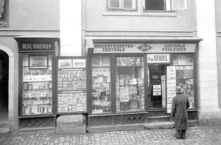 Obchod Franze Seidela na českokrumlovském Latráně