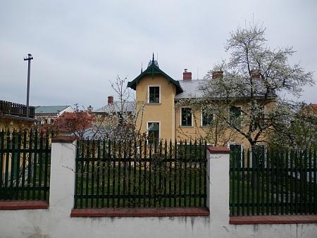 Zadní trakt domu