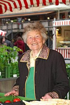 """Jako norimberská trhovkyně (""""Marktfrau"""")"""