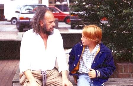 S představitelem hlavní role jeho filmu Jakub za modrými dveřmi (1985) Thomasem Spielbergem