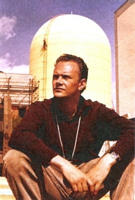 """V roce 1960 při natáčení dokumentu """"Kahl"""" o první německé atomové elektrárně"""