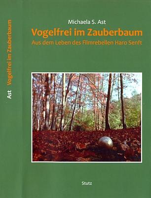 Obálka (2013) knihy o něm, vydané v pasovském nakladatelství Karl Stutz, kterou mi přivezl Peter Becher vkvětnu 2014 do Českých Budějovic, kde na Senftův popud sbíral materiály o přítelově rodném městě v půli třicátých let