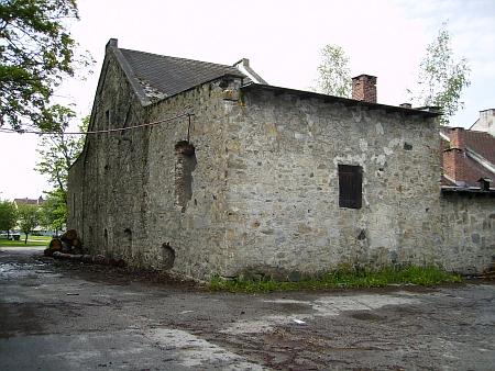 Dnešní stav (2012) pivovaru v Černé v Pošumaví