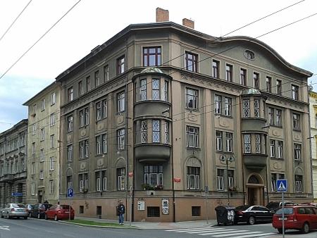 Rodný dům v českobudějovické ulici U Tří lvů