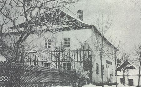 """Ze staré hospody u Šancí (""""auf der Schanz"""") blízko hraničníku na Trojmezí nezůstalo dnes zhola nic"""
