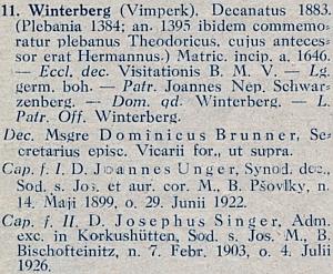 Ve Vimperku byl kaplanem spolu s Janem Ungerem