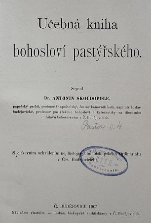 Titulní listy dvou jeho česky vydaných děl