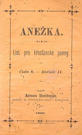 """Česky vydávaný """"list pro křesťanské panny"""" vznikal také pod jeho vedením"""