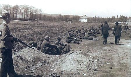 V Soběslavi docházelo v květnu 1945 vlokalitě Soliny k  týrání zajatých vojáků wehrmachtu, viz i Hugo Karlik