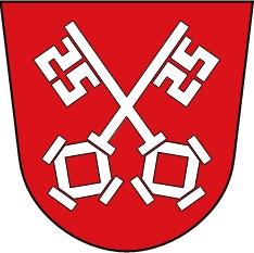 Znak města Řezno, kde zemřel