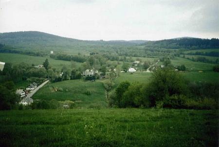 Celkový pohled na Klášterec z roku 2003