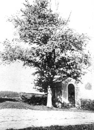 """Vzácný snímek """"Stejffler-Kapelle"""" u rodného Klášterce"""