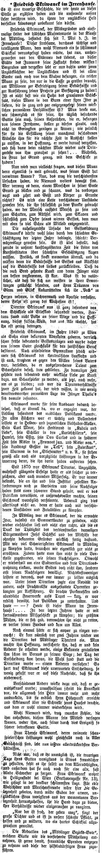 """Obsáhlý článek k manželově osudu s jejím místem pobytu přinesl rakouský list """"Badener Bezirks-Blatt"""" v srpnu roku 1885, zřejmě izjejího podání"""
