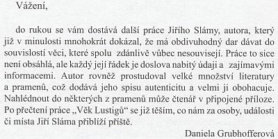 Jeho skromná, ale obsažná publikace (2006)