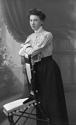 Dcery Caecilia a Ludmilla na snímcích z let 1901 a 1906