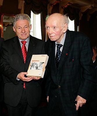 S hornorakouským hejtmanem Josefem Pühringerem