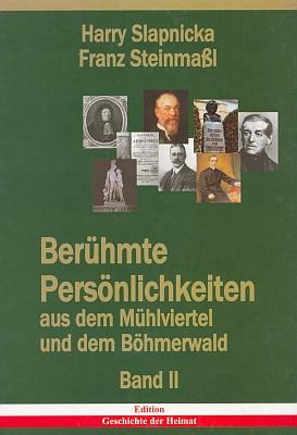 Obálky (2001 a 2004) dvou jeho knih věnovaných význačným osobnostem Mühlviertelu a Šumavy a vydaných rovněž nakldatelstvím Franze Steinmaßla v Grünbachu