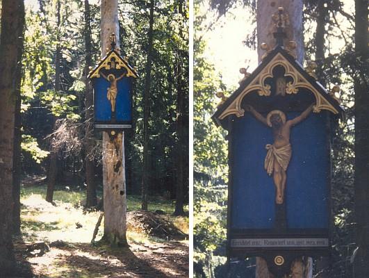 Roku 1998 byl Modrý obraz obnoven, ty snímky jsem tehdy poslal autorově dceři