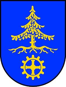 Znak města Waldkraiburg, kde zemřela její teta Anni