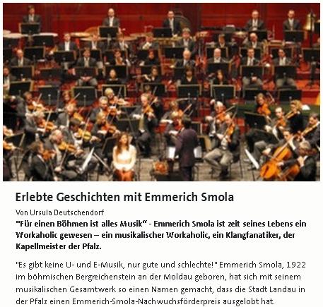 Záhlaví článku o něm na stránkách Westdeutsche Rundfunk