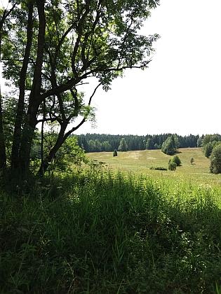Tady stávala Dolní Hraničná...