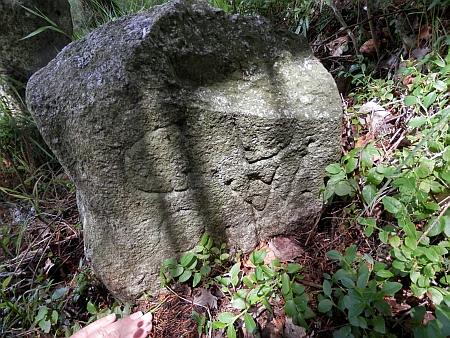 Hraniční kameny mezi Sankt Oswaldem a Dolní Hraničnou