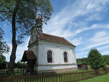 Kaple v Jiříkově Údolí (Georgenthal) blízko Jakule