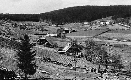 Jelení na pohlednici Josefa Seidela z počátku 20. století