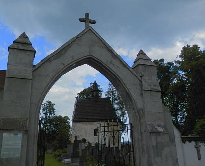Kašperskohorská hřbitovní kaple sv. Anny