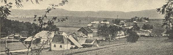 Hliniště (Leimsgrub) na staré pohlednici