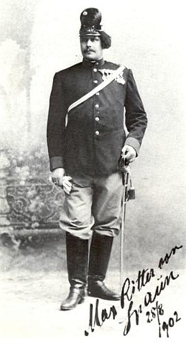 Na snímku z roku 1902 ve stáří 47 let