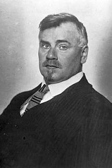 Leopold Bauer (1872-1938) na snímku z roku 1920