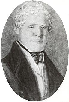 Johann Lötz a jeho žena Susanne na dvou kvaších z doby kolem roku 1840