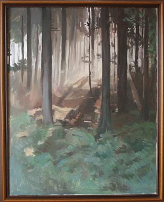 Jeho vůbec poslední obraz pochází z roku jeho úmrtí a zůstal stát nedokončený na malířském stojanu