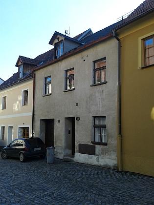 Rodný dům čp. 89 v prachatické Dlouhé ulici