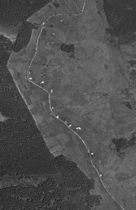 Scheurek / Stodůlky / Žďárek na leteckých snímcích z let 1949 a 2008