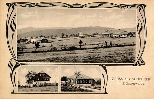 Scheurek míval i svou pohlednici (foto Josef Seidel)