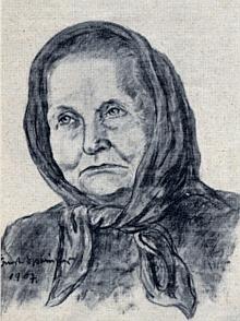 Emilie Springerová, jak ji zachytil její syn