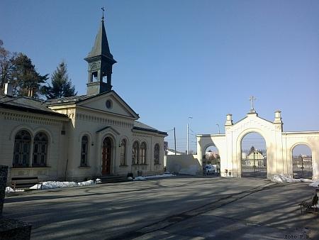 Městský hřbitov s kaplí sv. Otýlie
