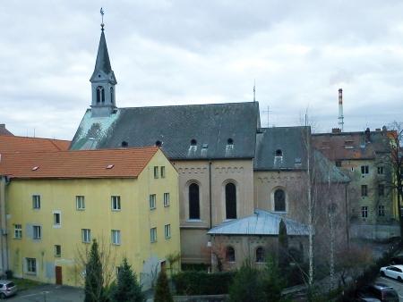 Růženecký kostel v Žižkově ulici