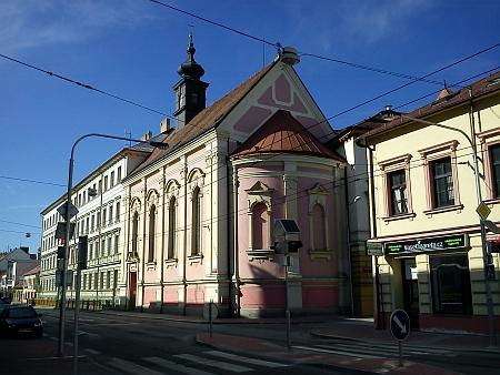 Kostel Božského Srdce Páně v Rudolfovské ulici
