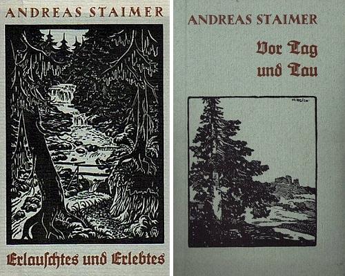 Obálky dalších dvou jeho knih z nakladatelství Laßleben (1967 a 1971)