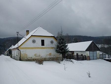 Černé Údolí v prosinci 2012