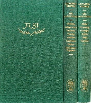 """Vazba (1960) """"lepšího"""" vydání Stifterových povídek vpůvodní autorské verzi, jehož byl Stefl i v tomto případě editorem vaugsburském nakladatelství Adam Kraft"""