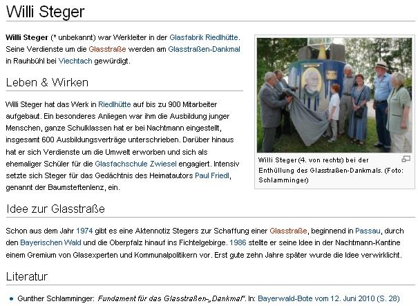 Ani z jemu věnovaných stránek na dolnobavorském serveru RegioWiki für Niederbayern und Altötting senedovíme datum a a místo jeho narození